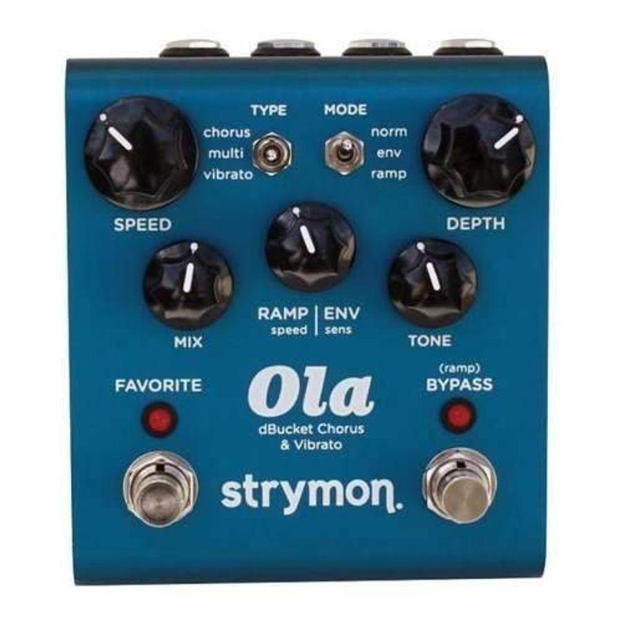 Pedal-De-Efectos-Strymon-Ola-Chorus---Vibrato-Ola