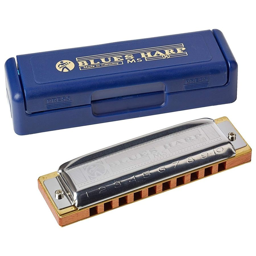 Armonica-Hohner-Blues-Harp-Diatonica-20-Voces-En-Bb--sib-