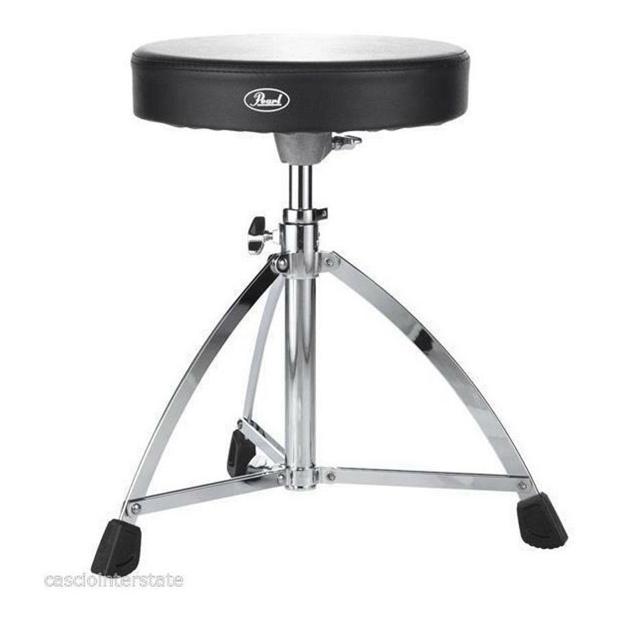 Banqueta-Pearl-D-730s-Drummer-s-Throne-Circular-De-Cuerina