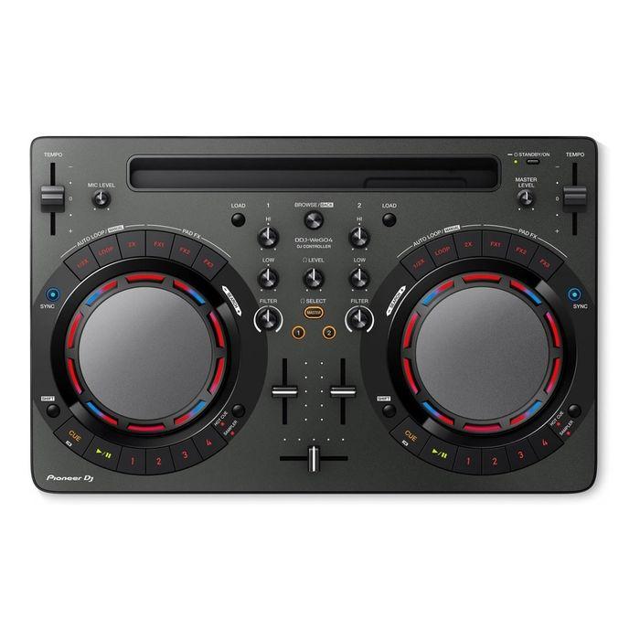 Controlador-Dj-Compacto-Pioneer-Ddj-Wego-4-K-Negro-Garantia