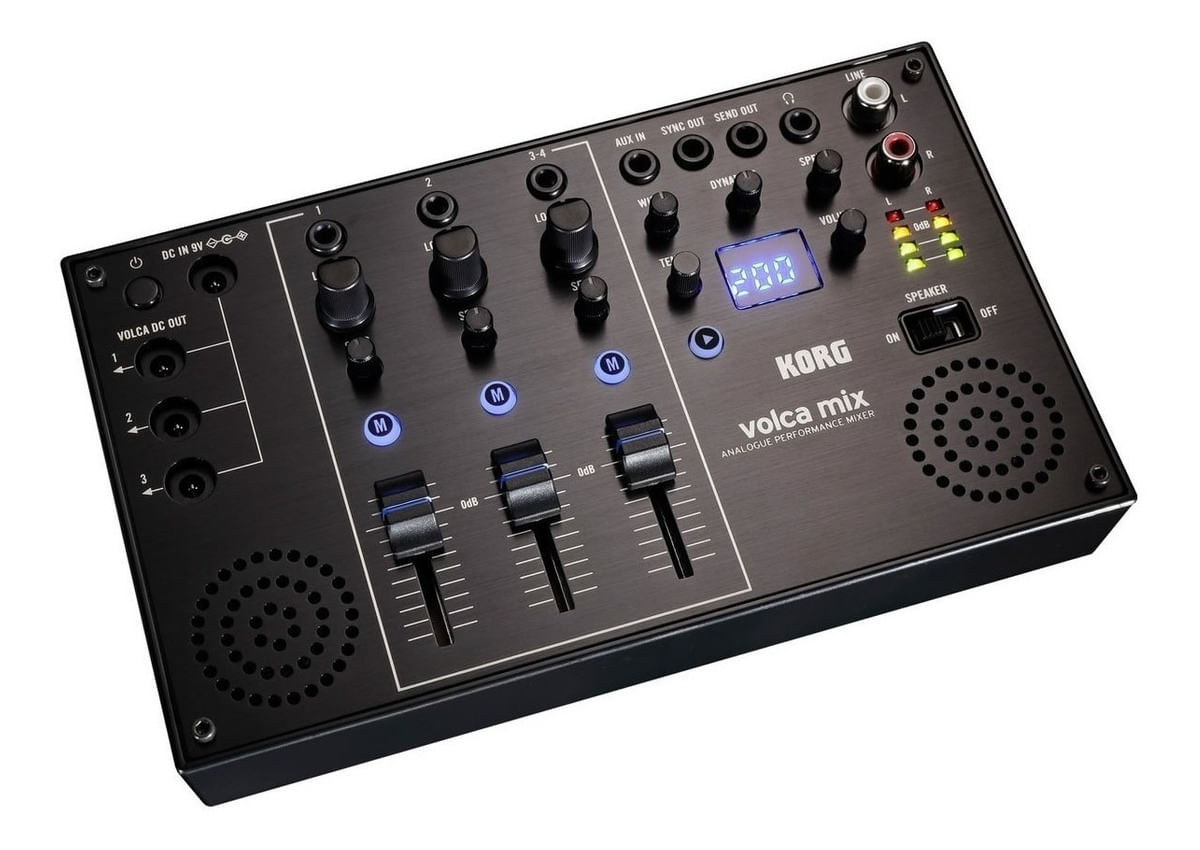 Mixer Analogico Korg Volca Mix Para Serie Volca Mezclador 3c - Baires Rocks