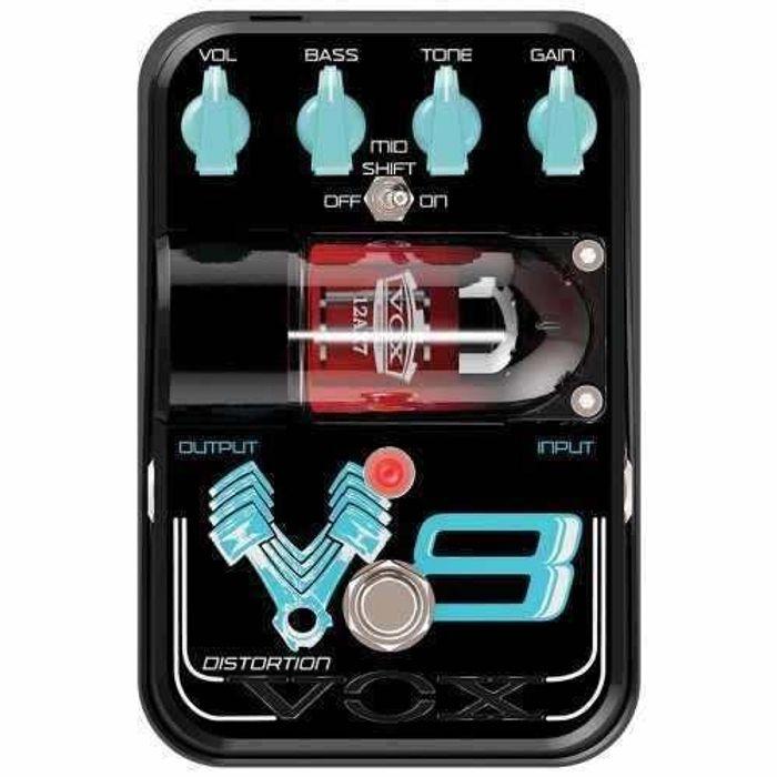 Pedal-De-Efecto-Vox-V8-Distortion-Tone-Garage-Valvular