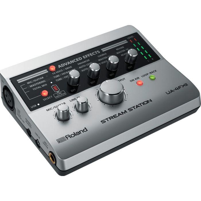 Interfaz-De-Audio-Roland-Ua4fx2-Usb-Stream-Station