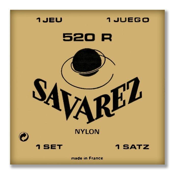 Encordado-Savarez-520r-Nylon-Tension-Normal-Guitarra-Clasica