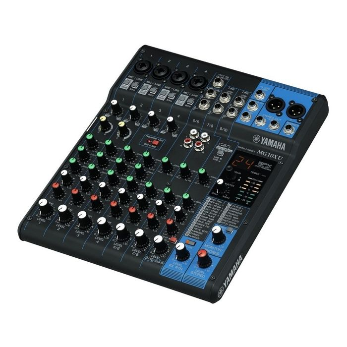 Consola-Mixer-Yamaha-Mg10xu-Usb-10-Canales