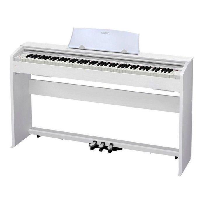 Piano-Digital-Casio-Privia-Px770we---Mueble-3-Pedales-Blanco