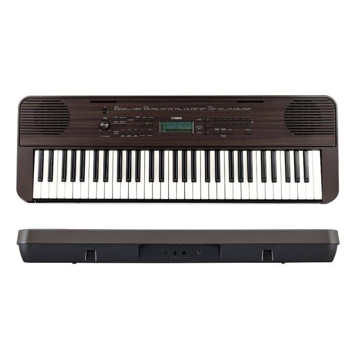 Teclado-Sensitivo-Portatil-Yamaha-Psre360-Maple-De-61-Teclas-Sensibles-5-Octavas-400-Voces-32-De-Polifonia-Con-Fuente