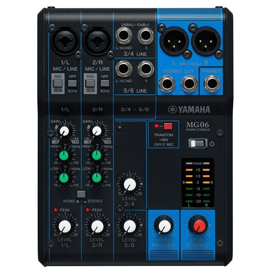 Mixer-Consola-Yamaha-Mg06-Analogica-Compacta-De-6-Canales