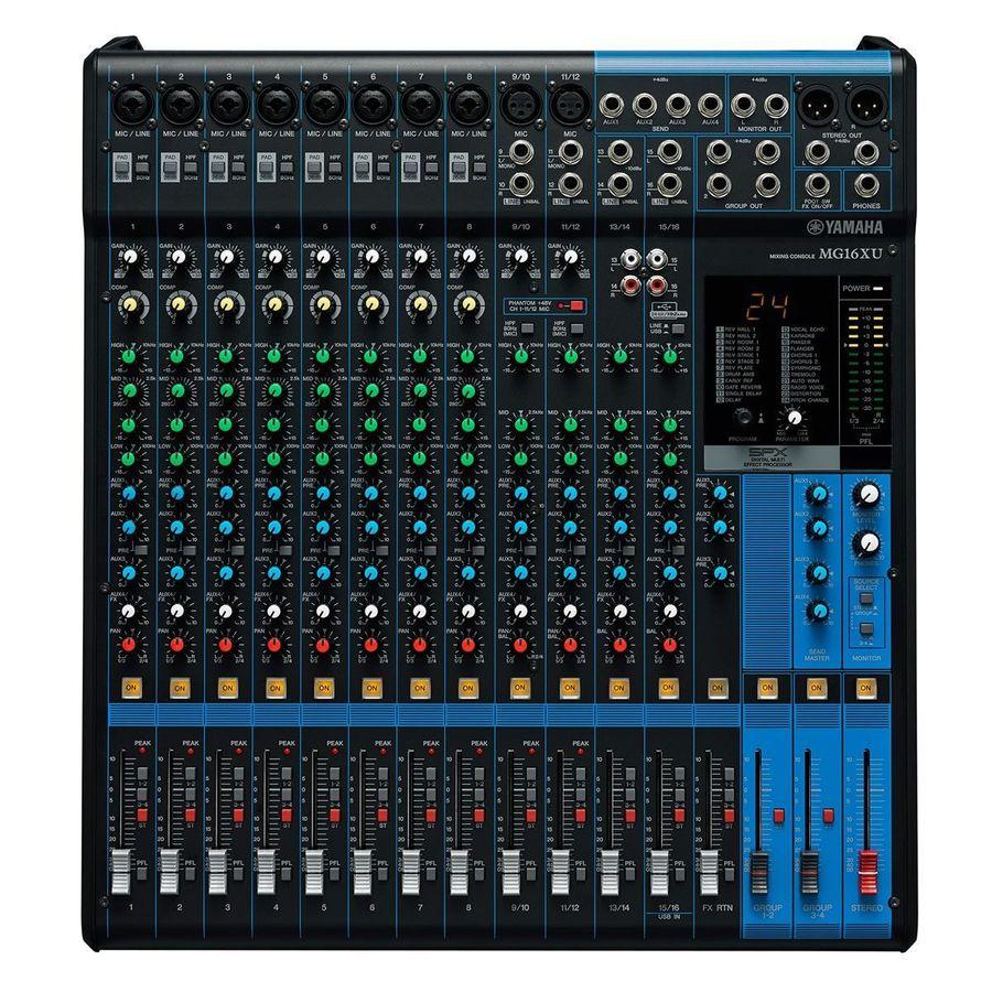 Mixer-Consola-16-Canales-Yamaha-Usb-Efectos-Mg16-xu