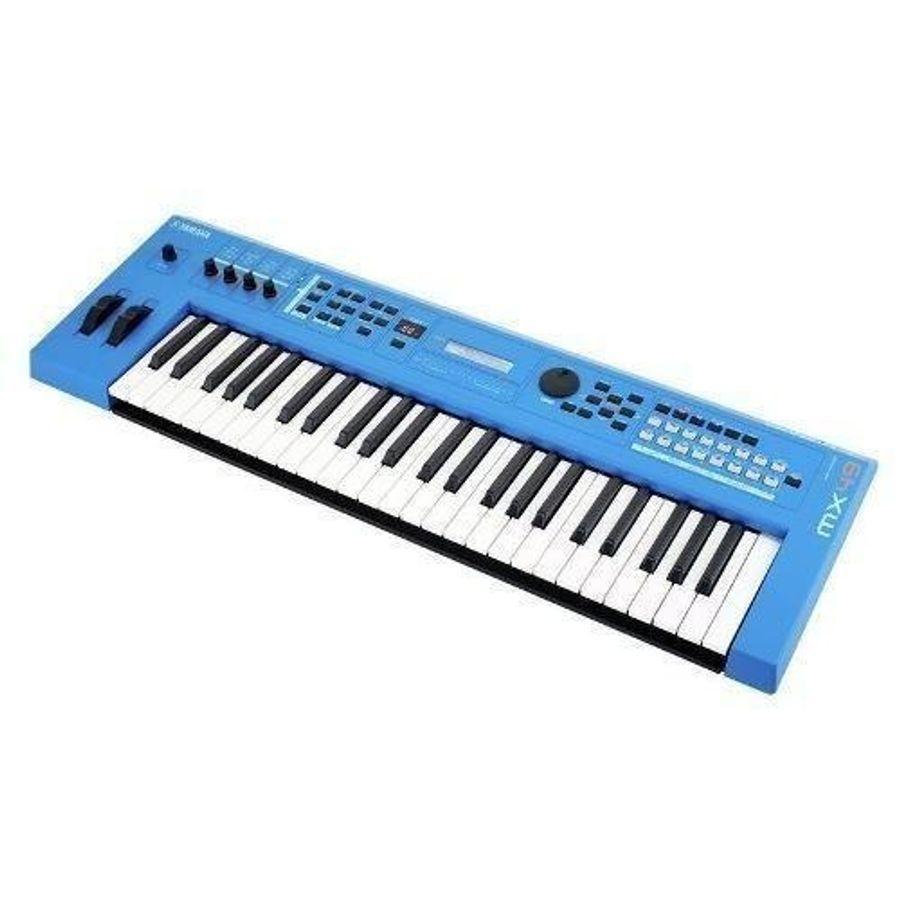 Sintetizador-Generador-De-Tonos-Awm2-Yamaha-Modelo-Mx49-Bu