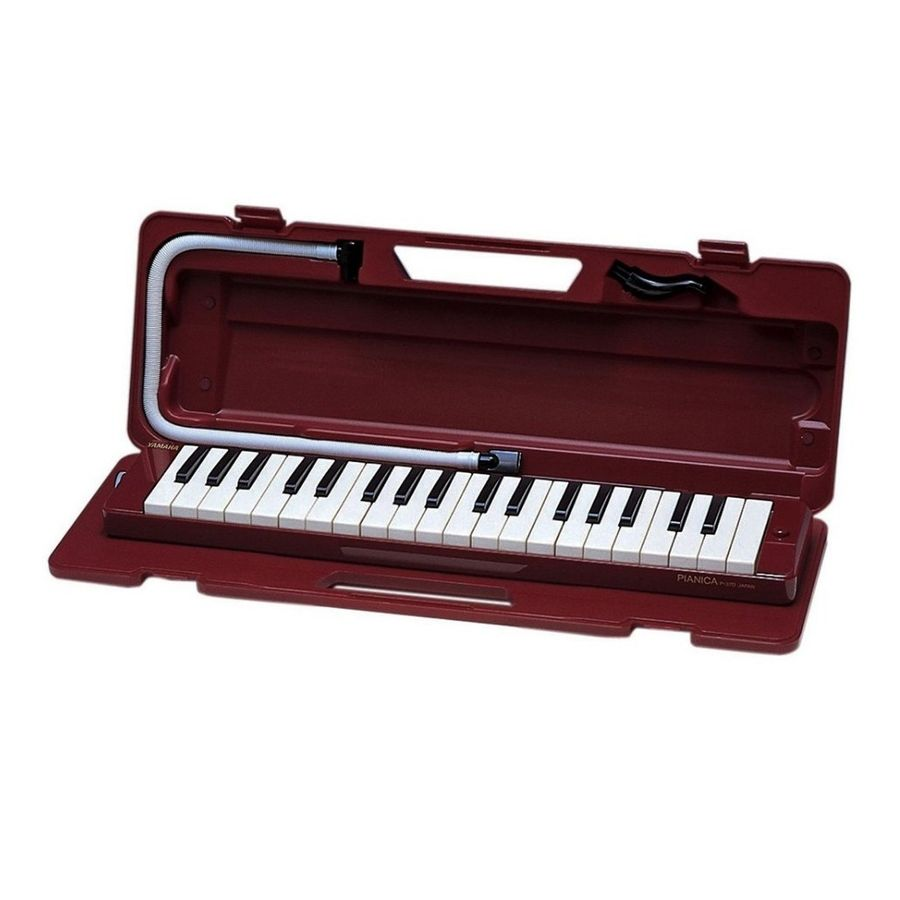 Flauta-Melodica-Yamaha-37-Teclas-Con-Estuche-Rigido-Boquilla