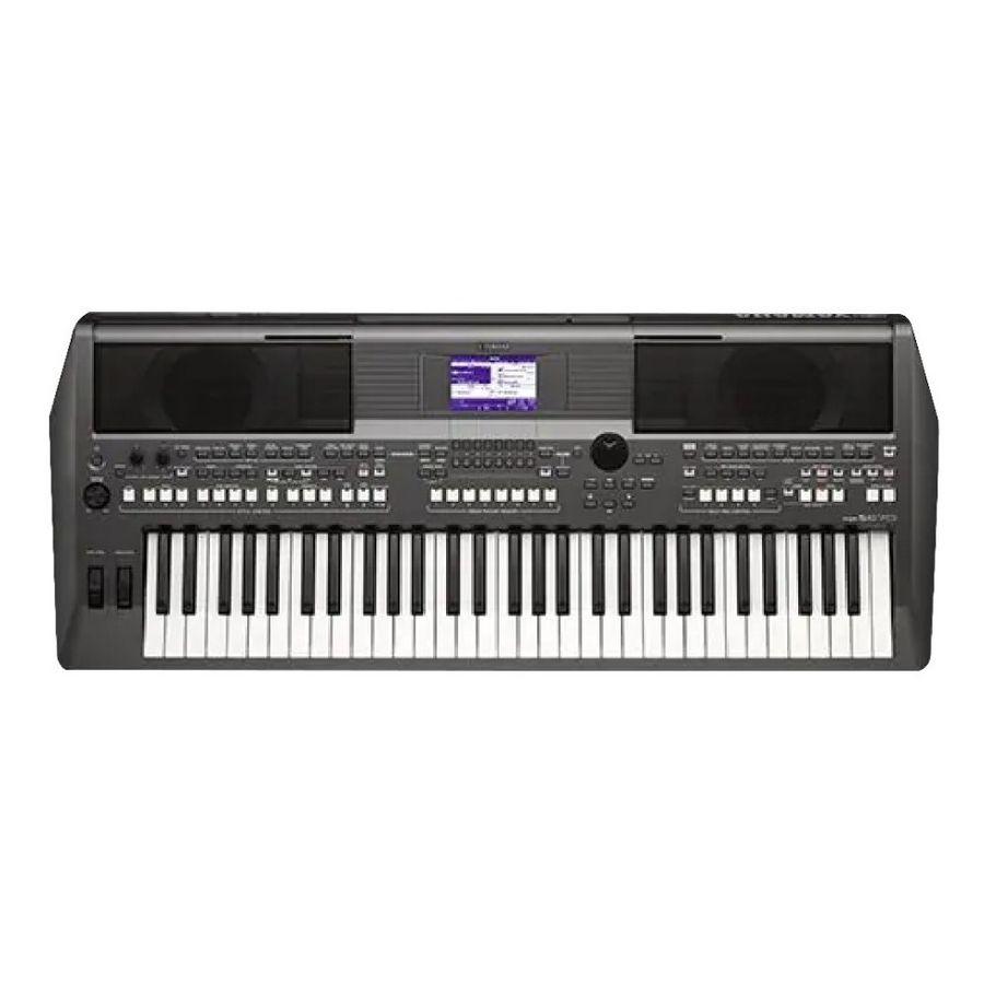 Teclado-Yamaha-61-Teclas-Sensitivo-Al-Tacto-Psrs670