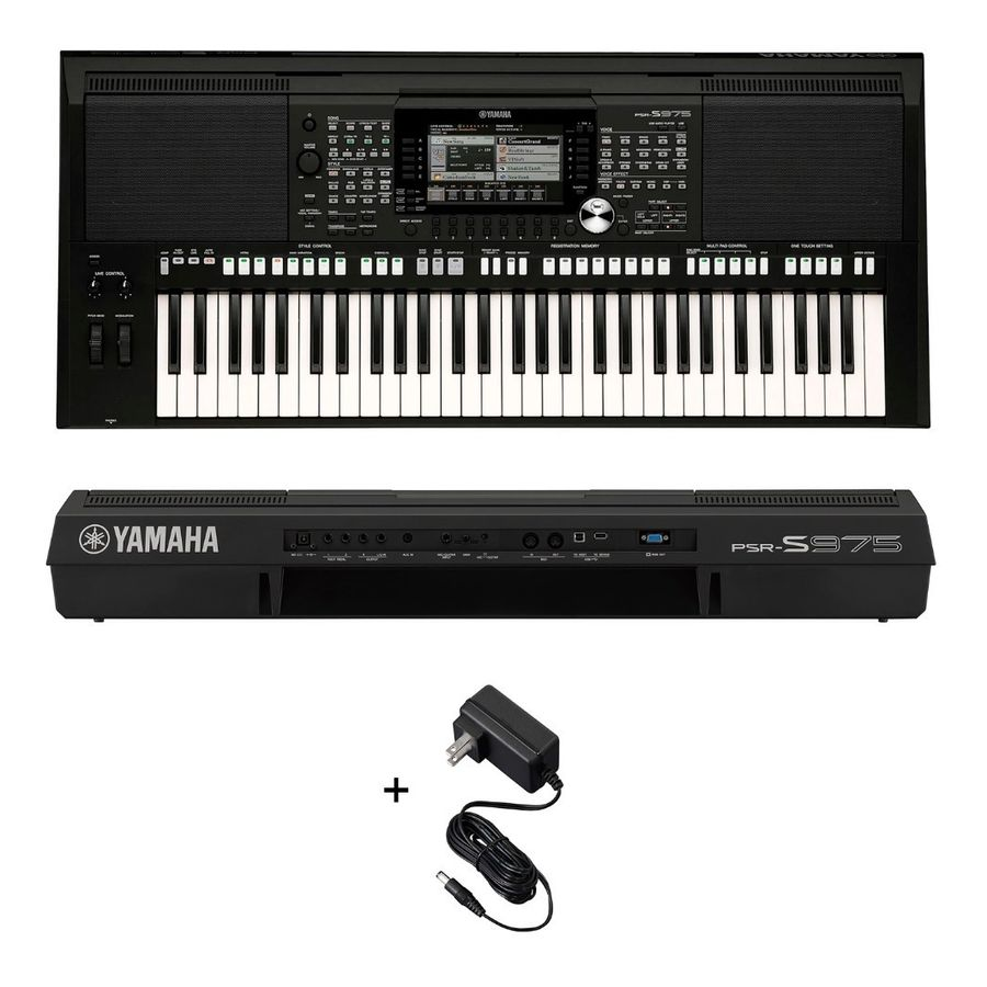 Teclado-Yamaha-Psrs975-Sensitivo-61-Teclas-Profesional