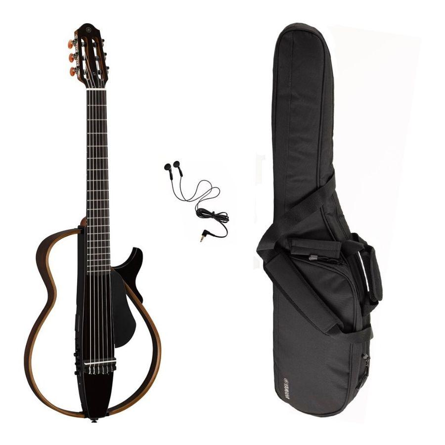 Guitarra-Electrocriolla-Yamaha-Slg200n-Silent-Con-Funda