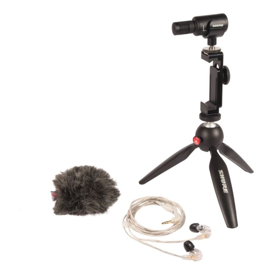 Kit-Para-Produccion-De-Video-Shure-Mv88-se215-cl-Portatil