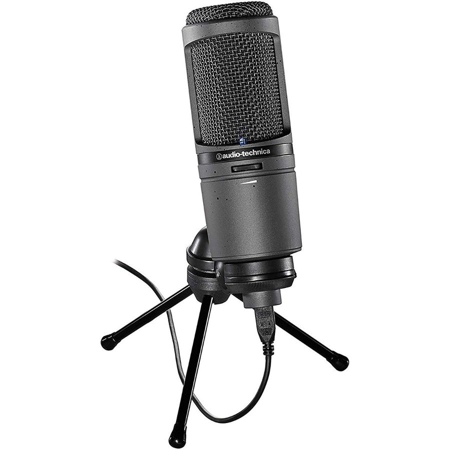 Microfono-Audio-technica-Para-Estudio-At2020usb-Condensador