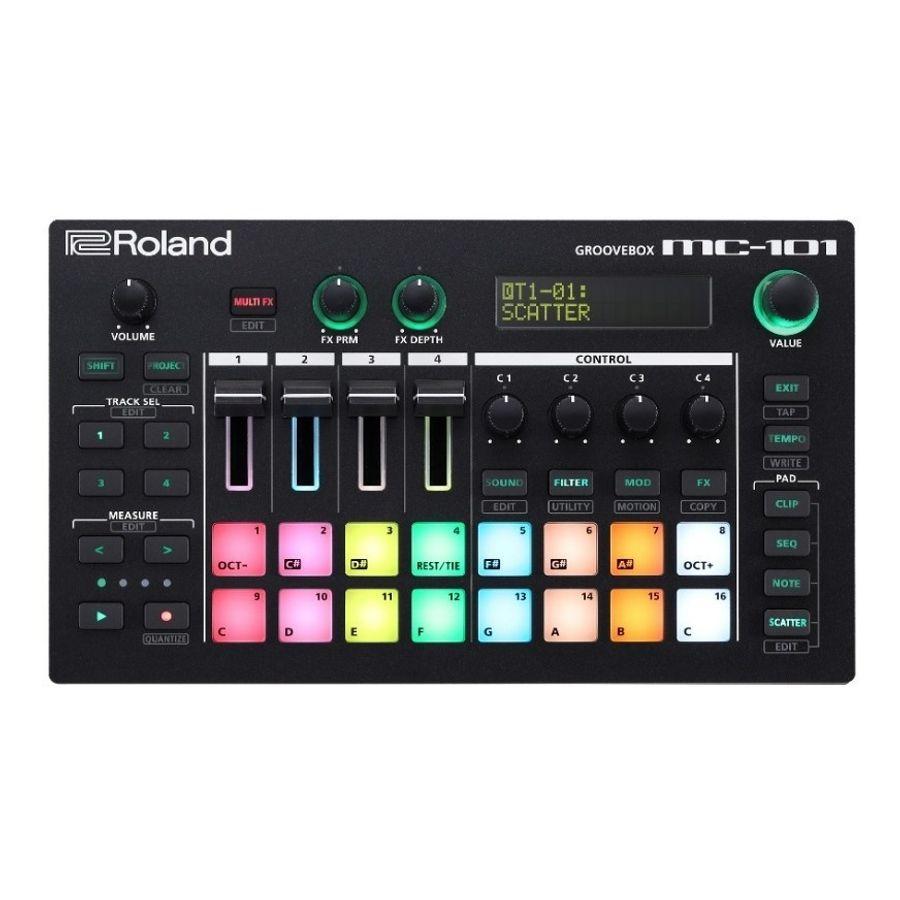 Caja-de-ritmos-Roland-Music-Worstation-Grooverbox-MC101