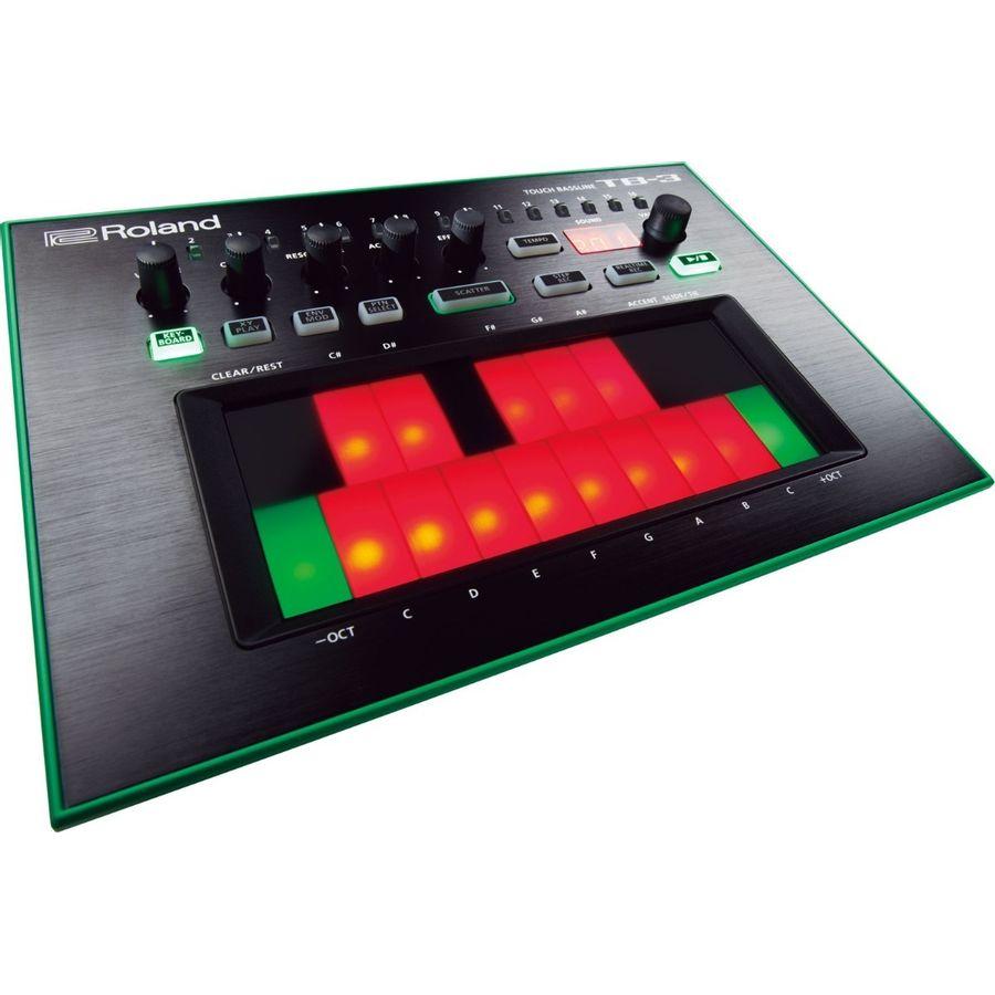 Sintetizador-Roland-Touch-Bassiline-TB3