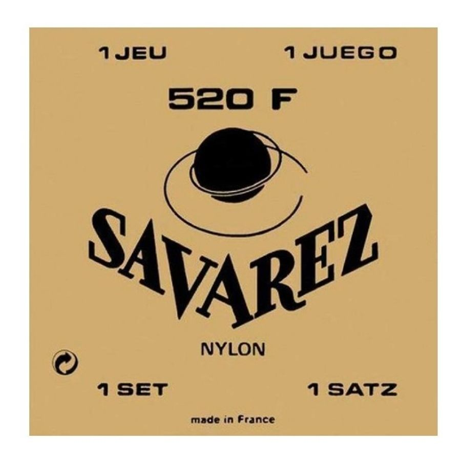 Encordado-Savarez-Guitarra-Clasica-Nylon-520f-3ra-Entorchada