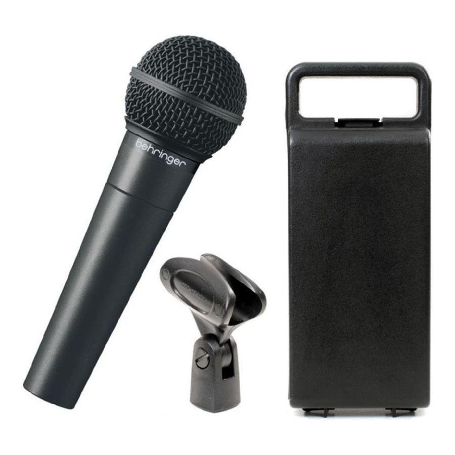 Microfono-Behringer-Xm8500a-Cardioide-con-Pipeta-y-Estuche
