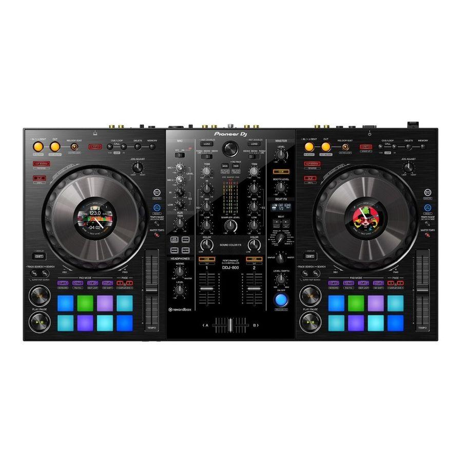 Controlador-Dj-Pioneer-DDJ800-Rekordbox-2-Canales-Mixer-integrado