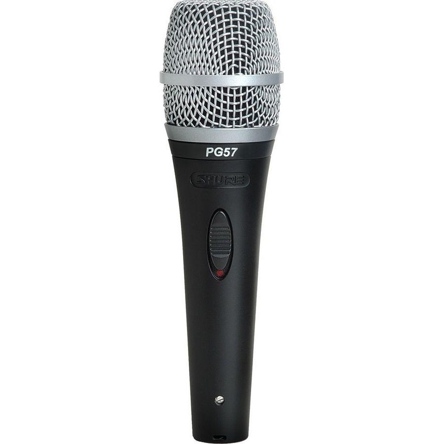 Microfono-Shure-Card-PG57-XLR-Dinamico-con-Swich---Cable