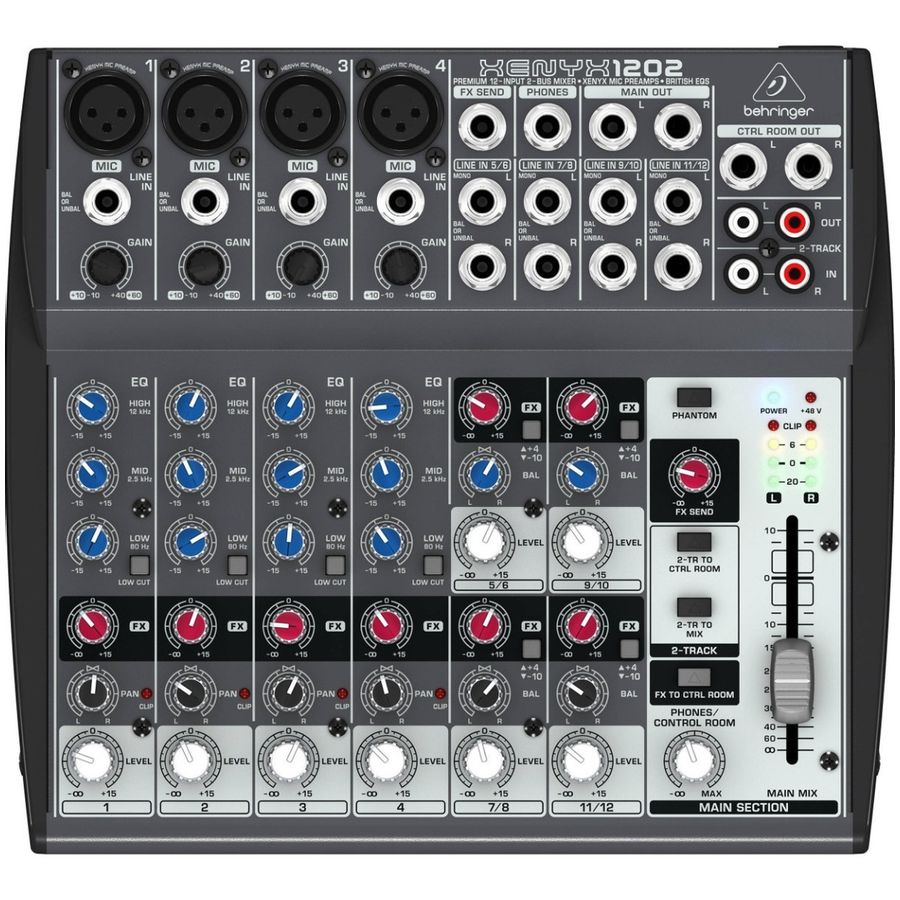 Consola-Behringer-XENYX-1202-Audio-Mixer-12-Canales