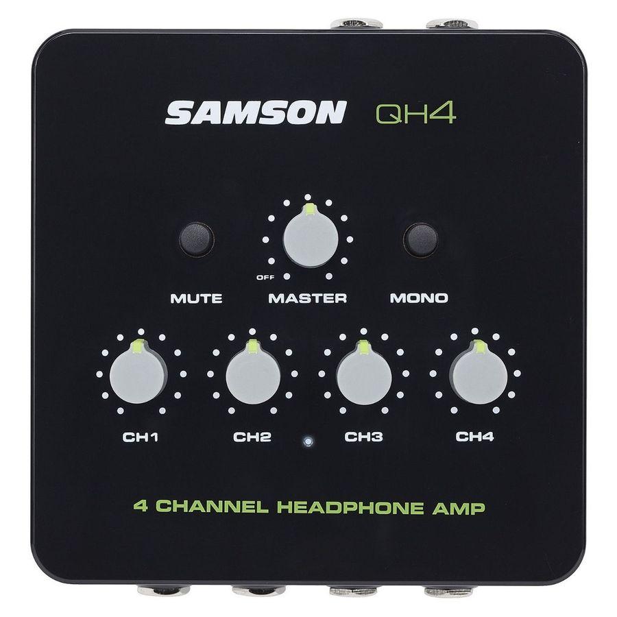 Amplificador-de-auriculares-Samson-QH4-de-4-canales