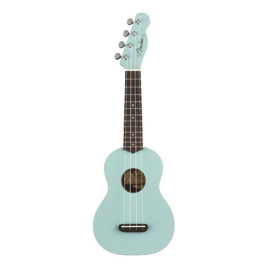 Ukelele-Soprano-Fender-Venice-California-Daphne-Blue