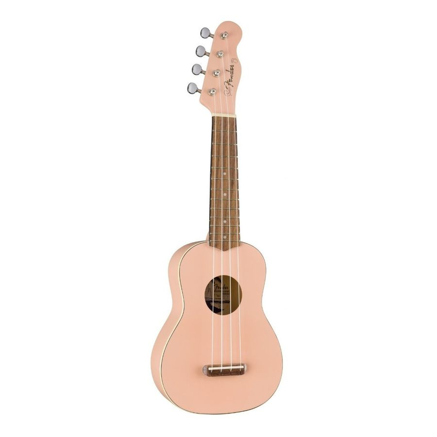 Ukelele-Soprano-Fender-Venice-California-Shell-Pink