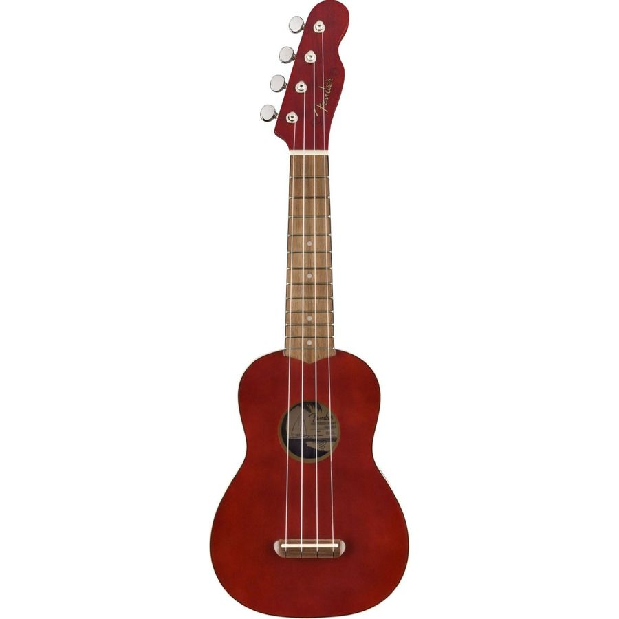 Ukelele-Soprano-Fender-Venice-California-Cherry
