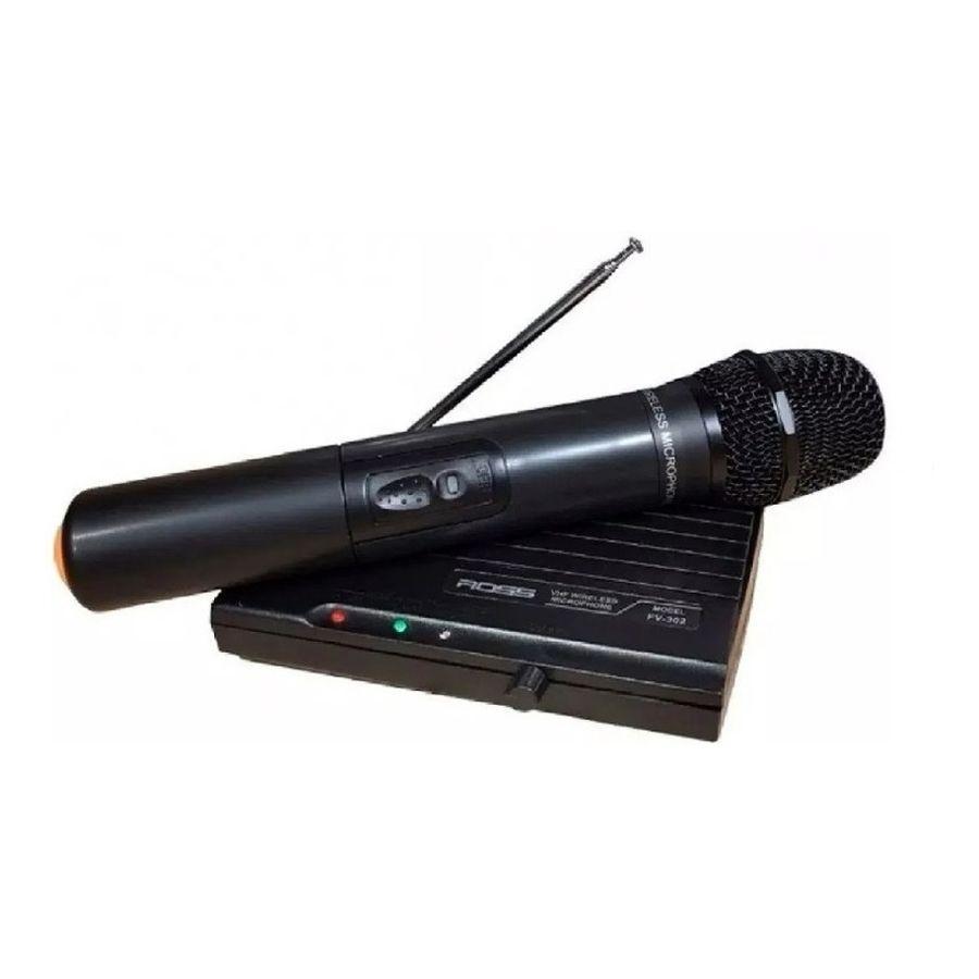 Microfono-Inalambrico-Ross-VHF-de-Mano-con-Receptor