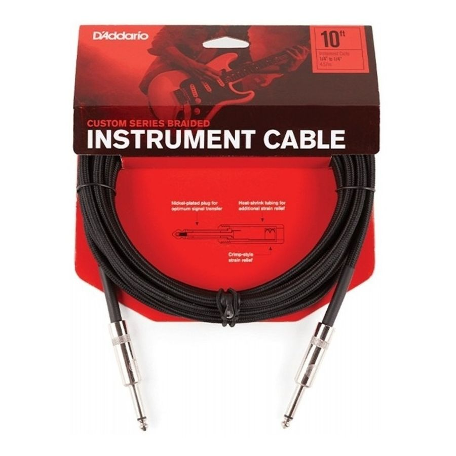 Cable-para-instrumentos-Daddario-BG-10-Trenzado--3-Mts