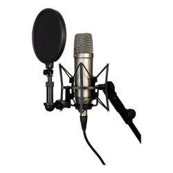 Set-Microfono-Condenser-Rode-Nt1a---Cable---Capsula-Araña