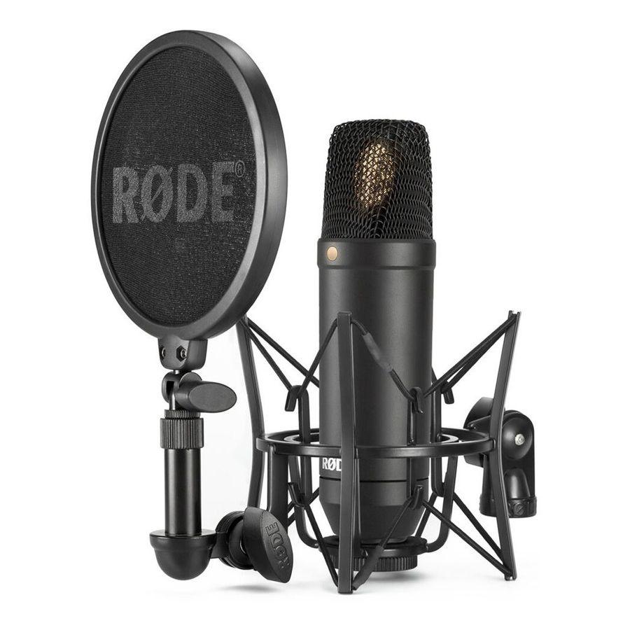 Microfono-De-Condensador-Rode-Nt-1-Kit-Araña---Popfilter