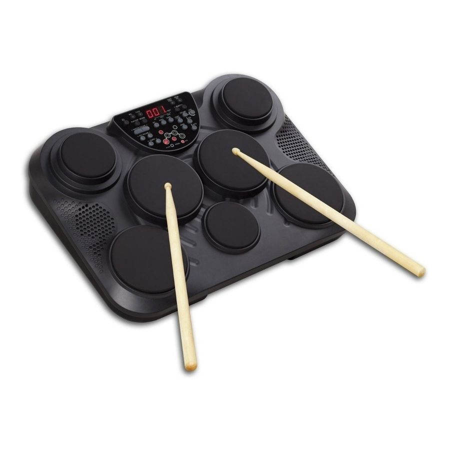 Bateria-Electronica-Portable-Medeli-DD315-7-Drum-Pad---Palillos
