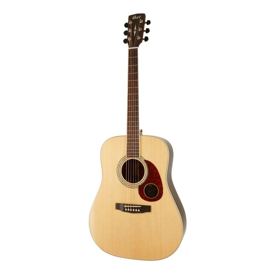 Guitarra-Acustica-Cort-Serie-Earth-100-Dreadnought-Nantural-Con-funda