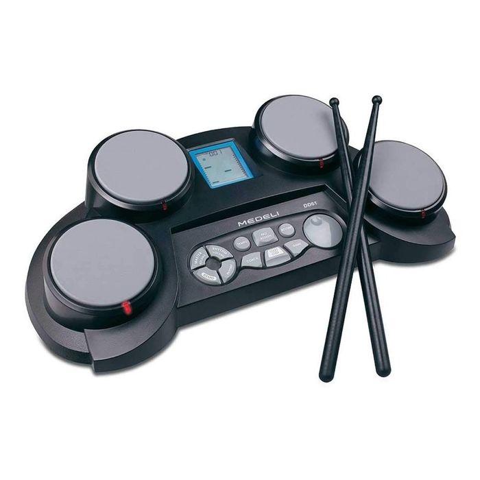 Bateria-Electronica-Portatil-Medeli-Dd-61-4-Pads-84-Sonidos