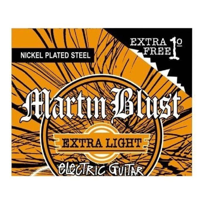Nuevo-Encordado-Martin-Blust-Xl-110-Para-Guitarra-Electrica