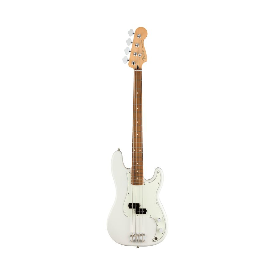 Bajo-Electrico-Fender-Precision-Player-Series-4c-Polar--White