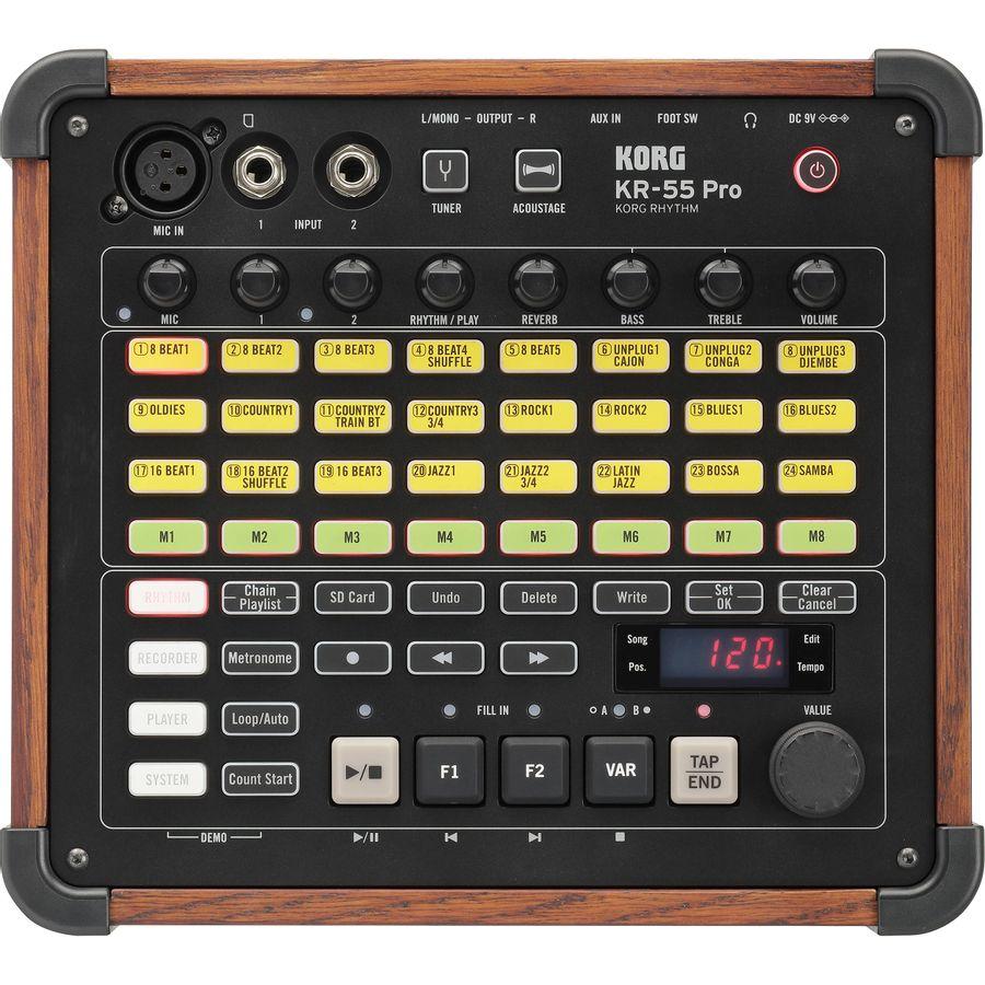 Maquina-De-Ritmo-Korg-Kr5-Pro-Mixer-3ch-Grabador-Digital