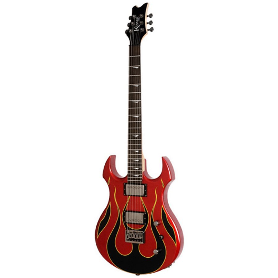 Guitarra-Electrica-Kramer-By-Gibson-Pariah-Candy-Red-Push-Pull