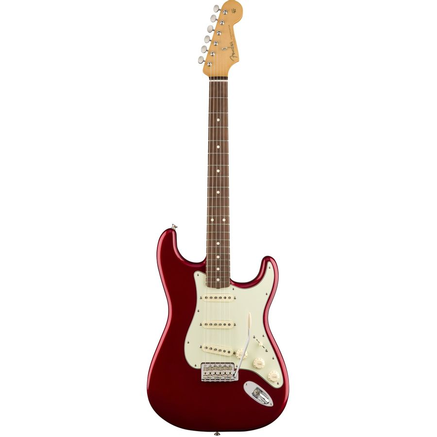 Guitarra-Electrica-Stratocaster-60-s-Classic-Mexico-PFN-c-Funda-Candy-Apple-Red