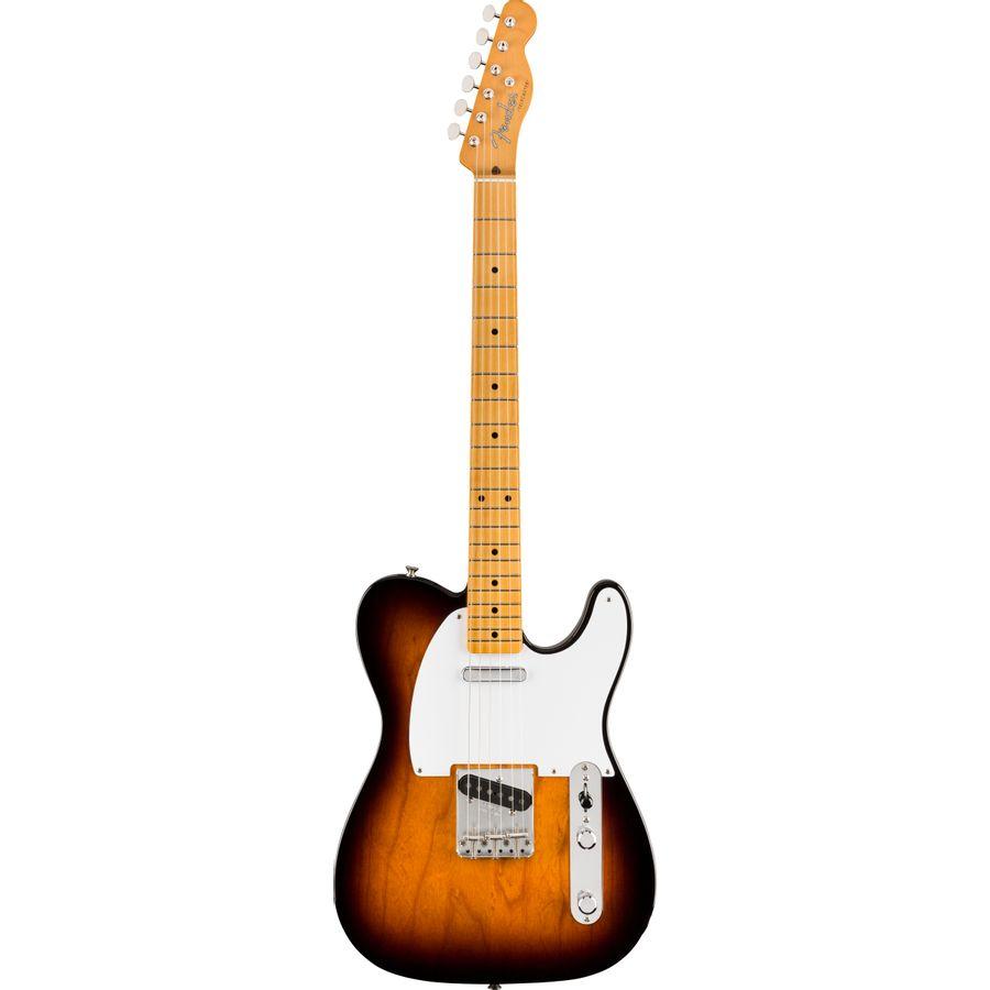 Guitarra-Electrica-Telecaster-Vintera-Series-50-s-MN-Mic.-Vintage-Style--50s-Single-Coil-Tele-Funda-Deluxe-Sunburst