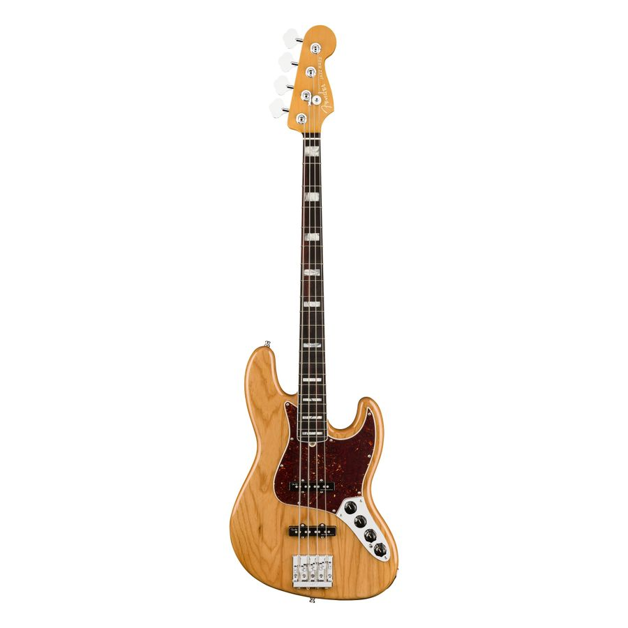 Bajo-Electrico-Fender-Jazz-Bass-American-Ultra-4C-RWN-Mics.-Ultra-Noiseless-c-Estuche-Elite-Molded-Aged-Natural