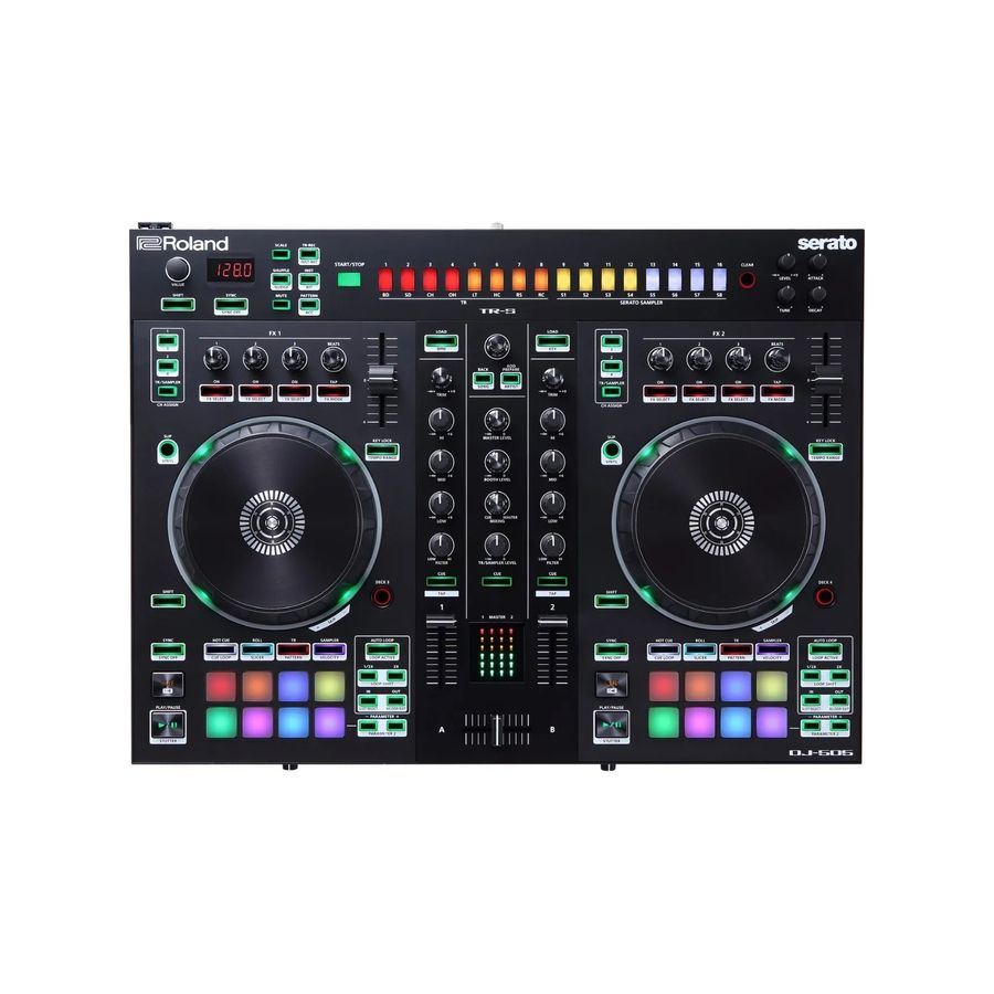 Controlador-Serato-Dj-Roland-Dj505-2-Canales-Interface