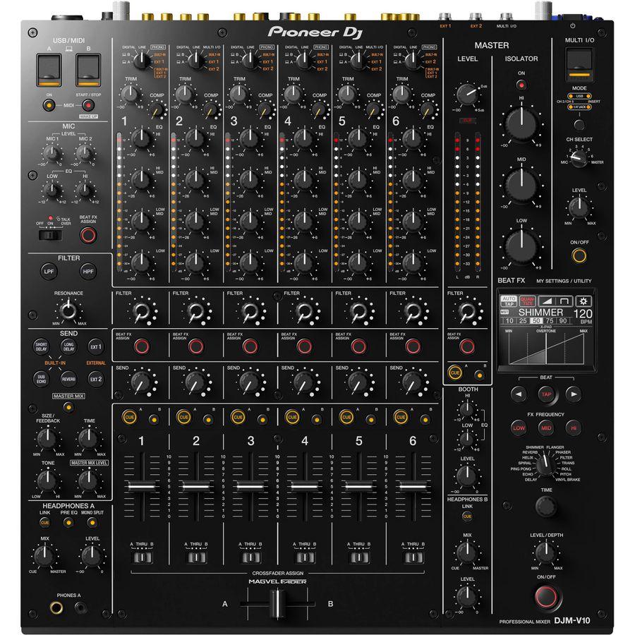 Mixer-Pioneer-Djm-v10-Dj-6-Canales-4-Eq-Control-Midi-Beat-Fx