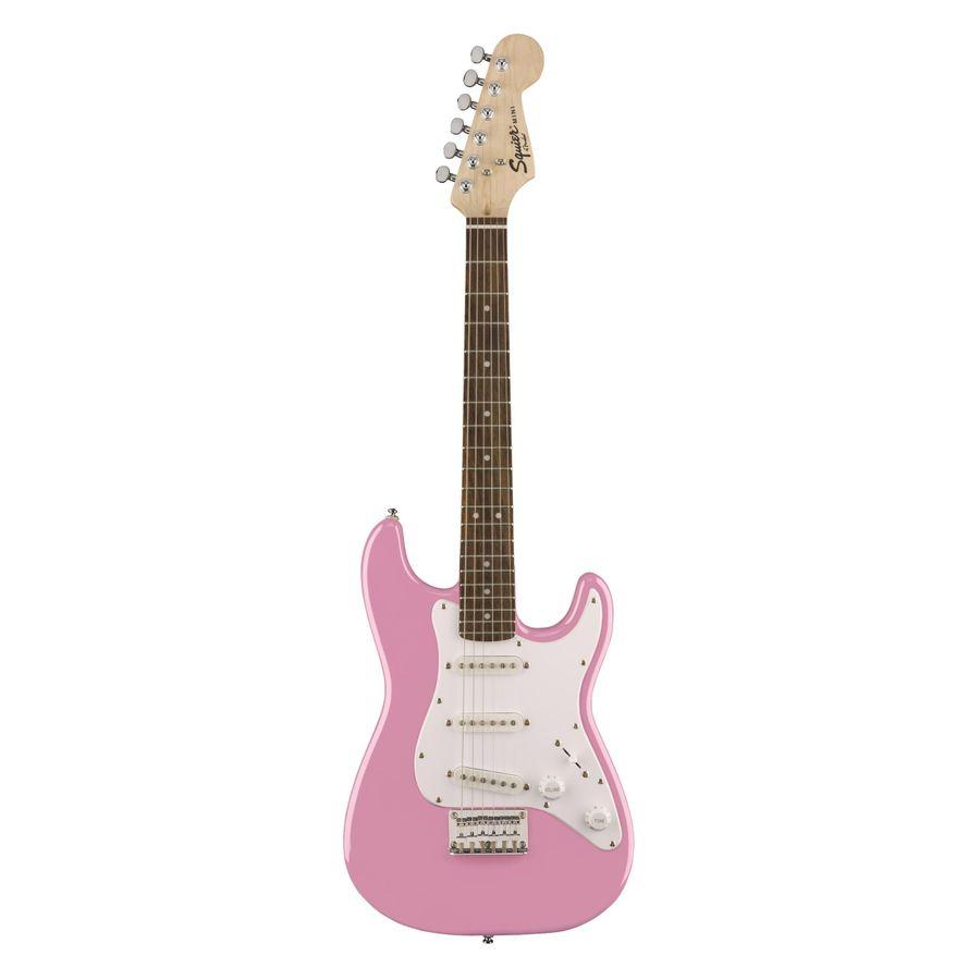 Guitarra-Electrica-Squier-Strato-Mini-V2-Bullet-Rw-Rosa