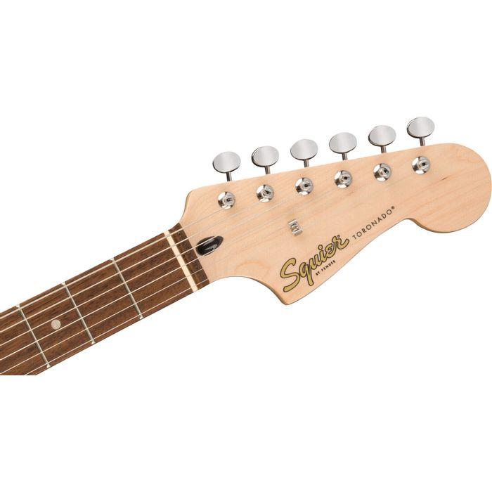 Guitarra-Electrica-Squier-Paranormal-Toronado-HH-Cuerpo-c-Forma-offset-unico-Herrajes-cromo-Black