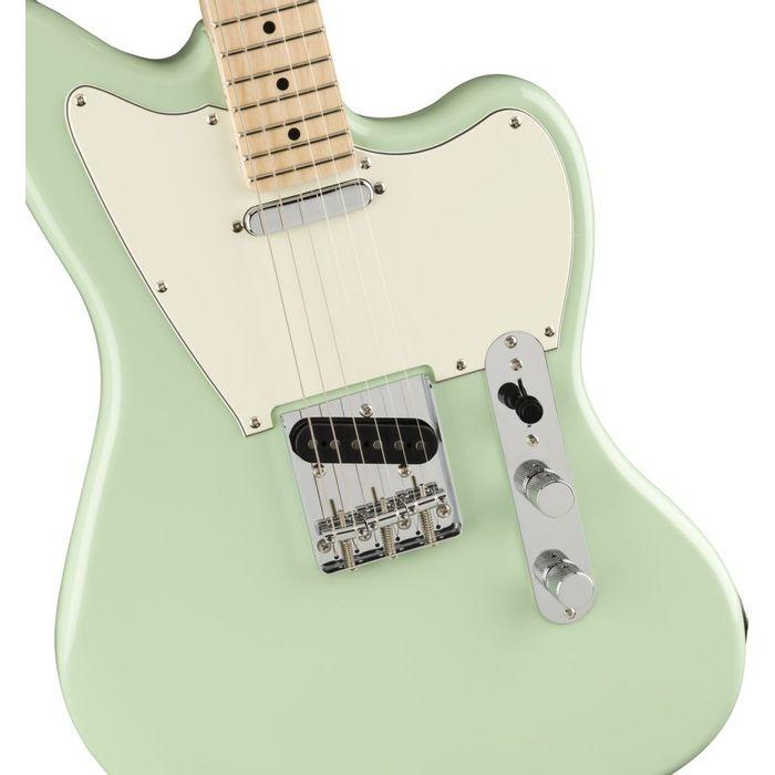 Guitarra-Electrica-Squier-Paranormal-Offset-Telecaster-Mic.-Alnico-SS-Corte-de-cuerpo-tipo-Jazzmaster-Surf-Green